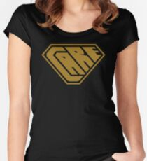 Care SuperEmpowered (Gold) Women's Fitted Scoop T-Shirt