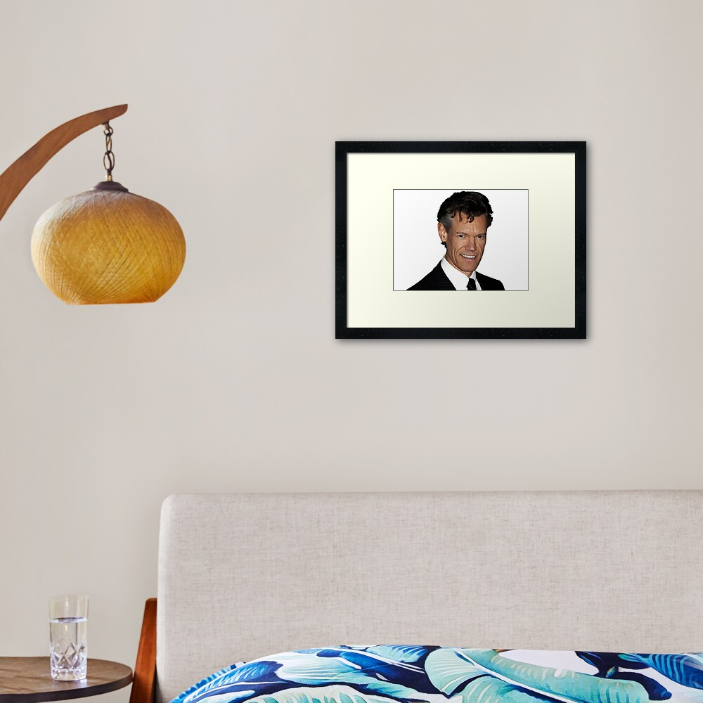 Randy Travis Framed Art Print