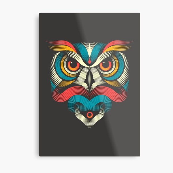 Sowl Metal Print