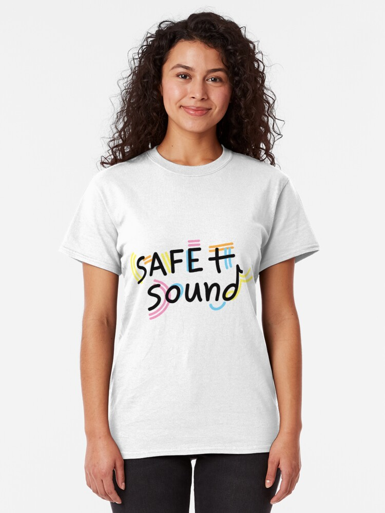 Alternate view of Safe + Sound Classic T-Shirt