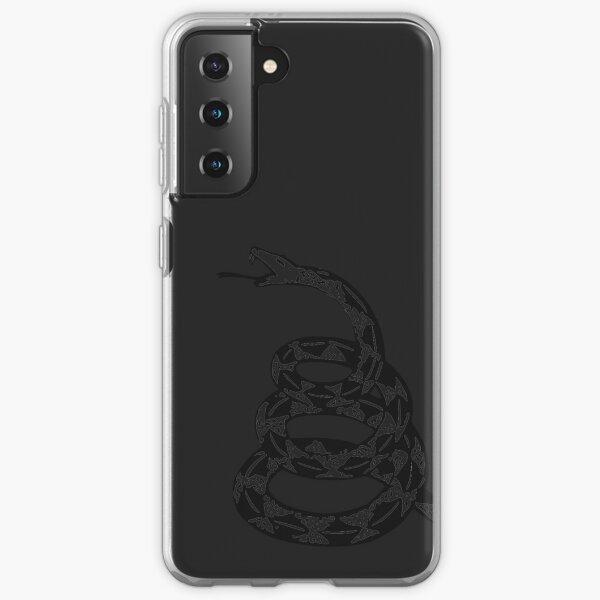 Gadsden Snake - Black Out Samsung Galaxy Soft Case