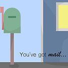 You've got mail by Tricia Johansson Furtado