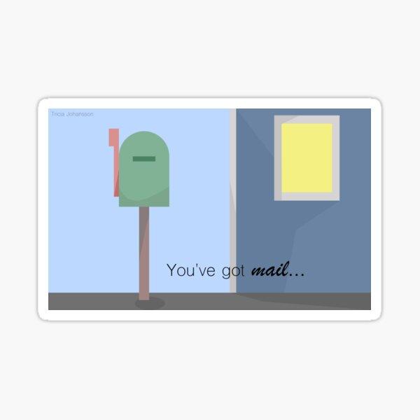You've got mail Sticker