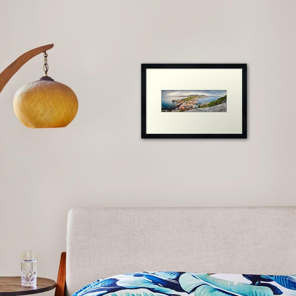Tongue Point, Wilsons Promontory, Victoria, Australia Framed Art Print