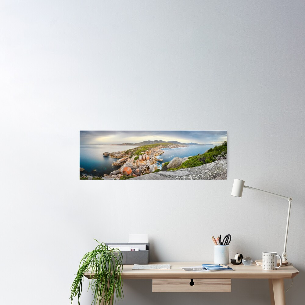 Tongue Point, Wilsons Promontory, Victoria, Australia Poster