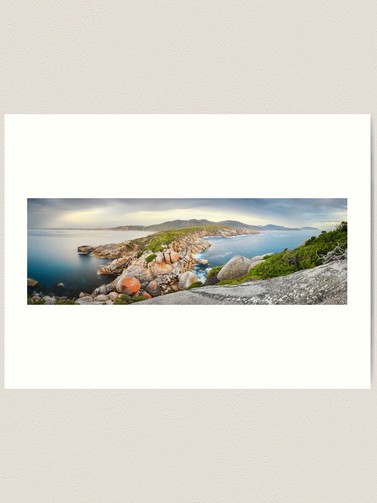 Alternate view of Tongue Point, Wilsons Promontory, Victoria, Australia Art Print