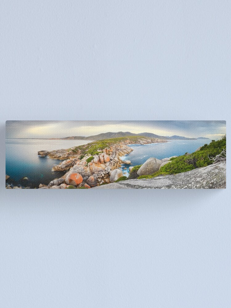 Alternate view of Tongue Point, Wilsons Promontory, Victoria, Australia Canvas Print