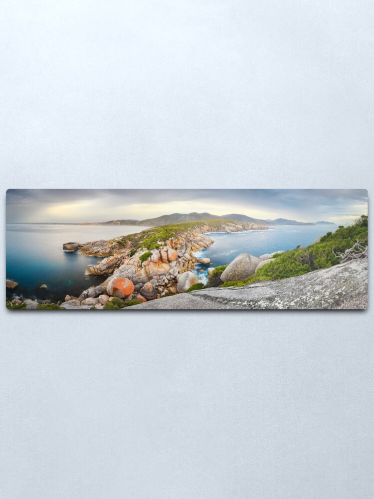 Alternate view of Tongue Point, Wilsons Promontory, Victoria, Australia Metal Print