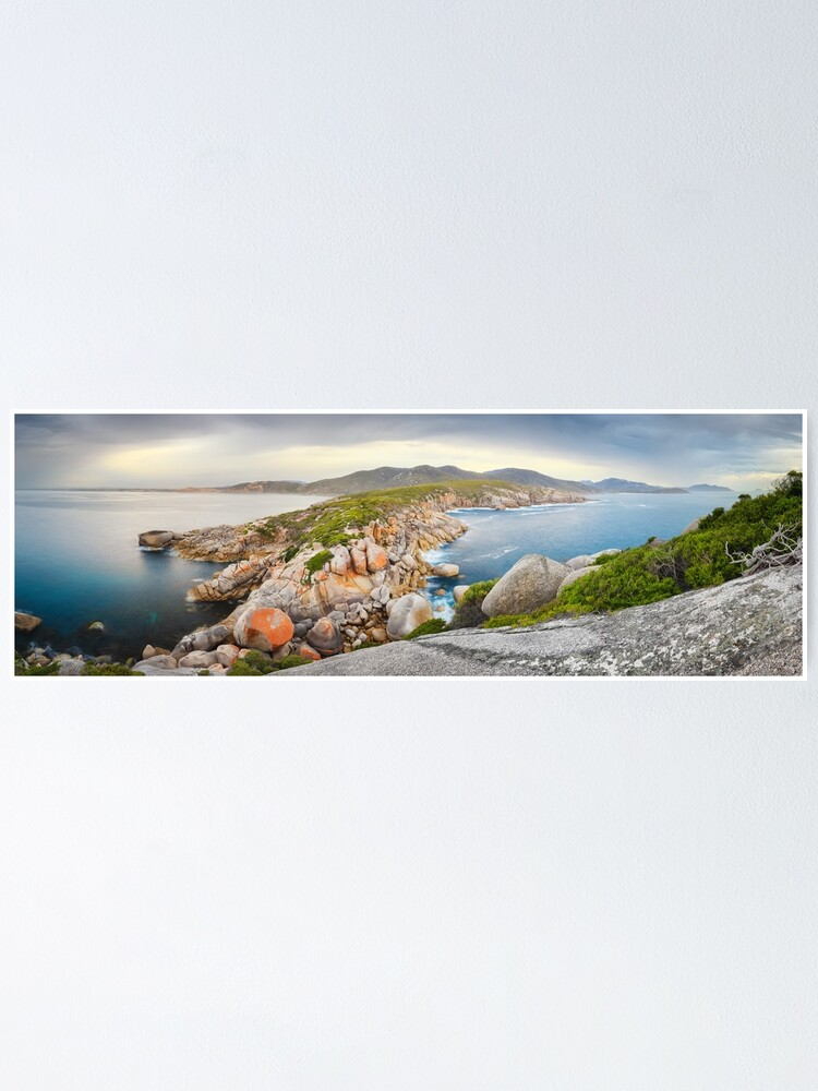 Alternate view of Tongue Point, Wilsons Promontory, Victoria, Australia Poster