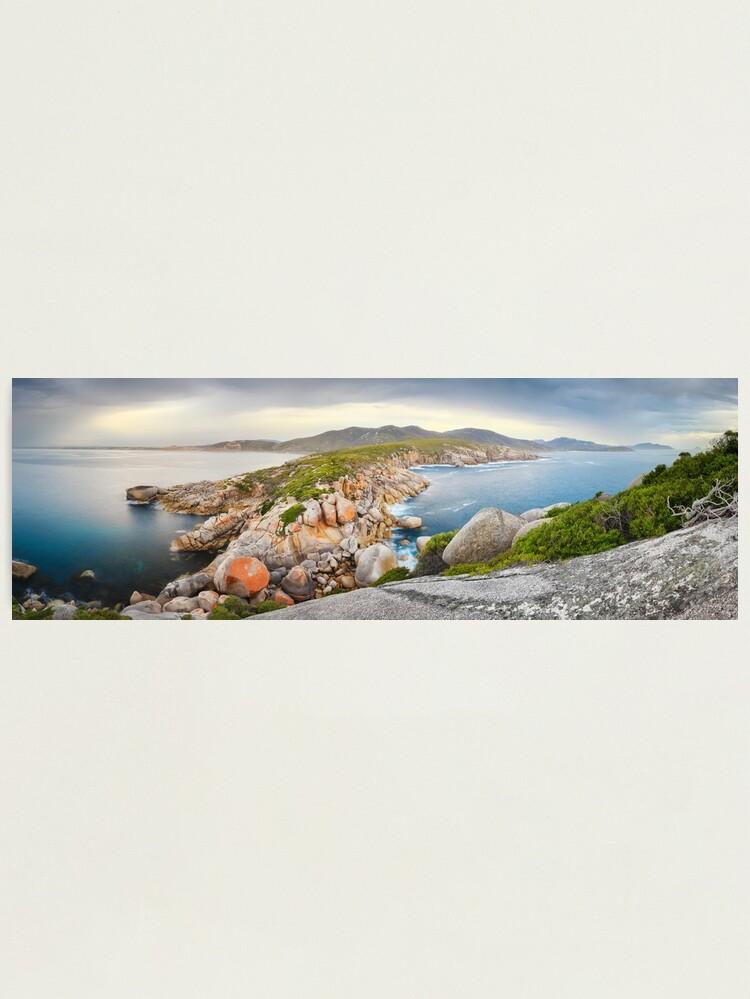 Alternate view of Tongue Point, Wilsons Promontory, Victoria, Australia Photographic Print