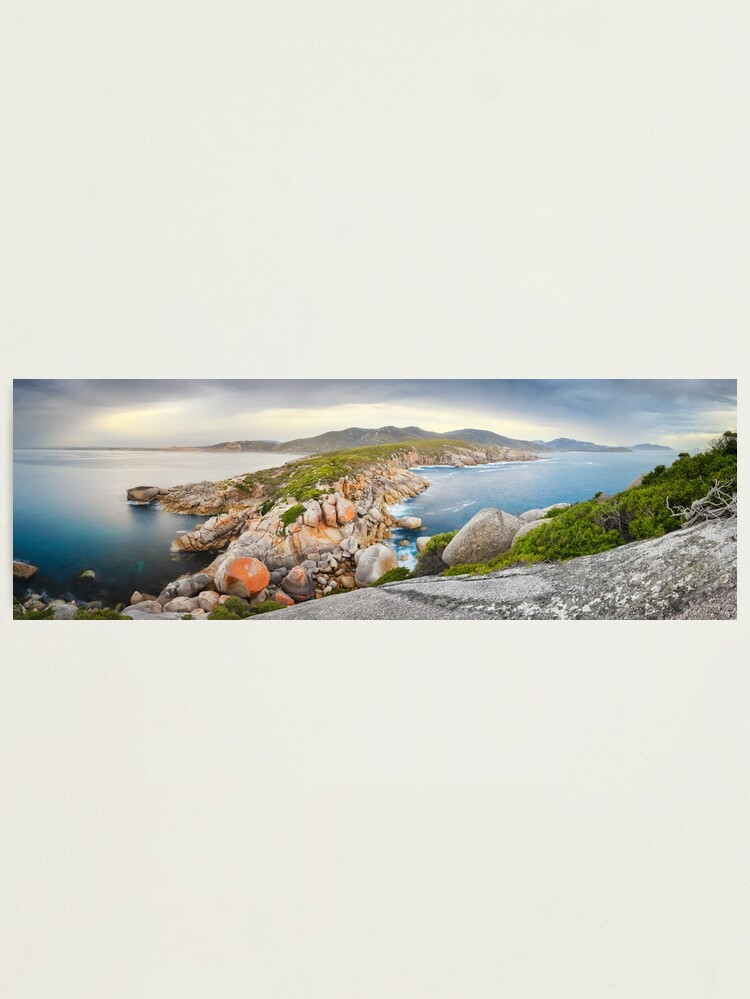 Alternate view of Tongue Point, Wilsons Promontory, Victoria, Australia Photographic Print