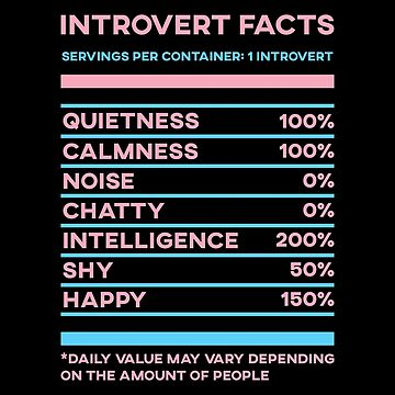 Introvert Facts Stats by SusurrationStud