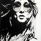 glasses girl by Denny Stoekenbroek