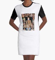 Elizabeth I Graphic T-Shirt Dress