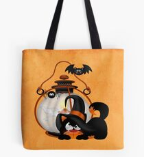 An Angry Cat  Tote Bag