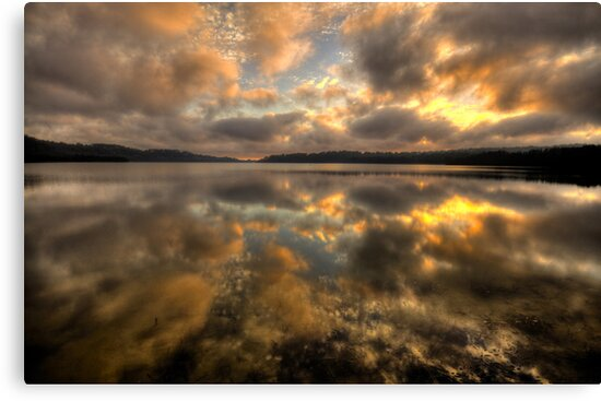 Genuflection - Narrabeen Lakes, Sydney - The HDR Experience by Philip Johnson