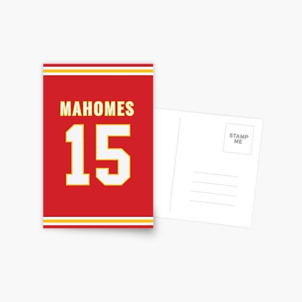 Pat Mahomes Postcard