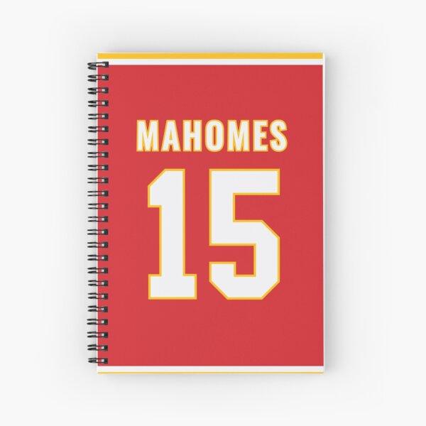 Pat Mahomes Spiral Notebook
