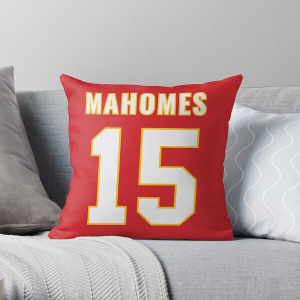 Pat Mahomes Throw Pillow
