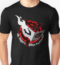Persona 5 Mask (red) Unisex T-Shirt