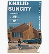 Khalid Suncity Poster