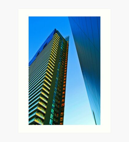 Sharp Architecture Art Print