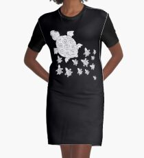 Just add Colour - Mumma Turtles Graphic T-Shirt Dress