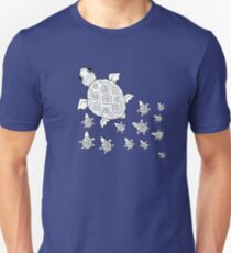 Just add Colour - Mumma Turtles Slim Fit T-Shirt