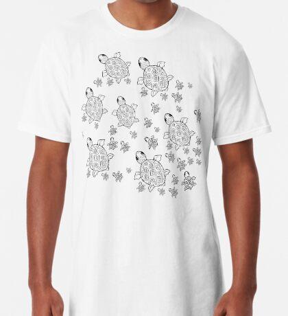 Just add Colour - Mumma Turtles Long T-Shirt