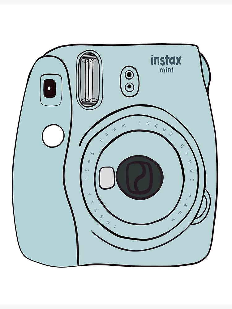 Polaroid Camera Fujifilm Instax Mini Greeting Card By Cordiallylily Redbubble