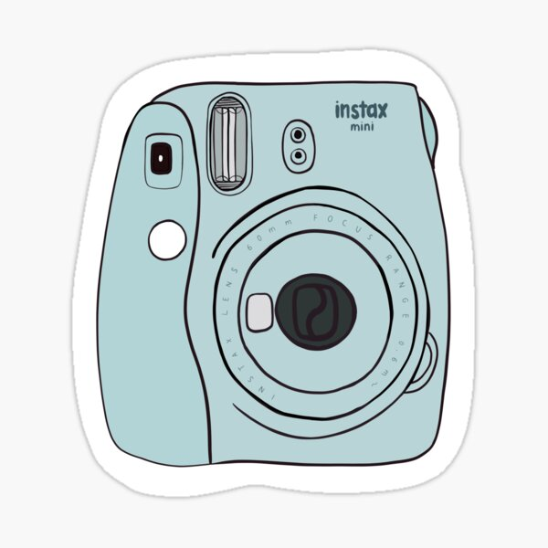 Cámara Polaroid - Fujifilm Instax Mini Pegatina
