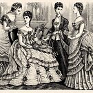 Victorian Ladies in Ball Gowns 3 by VictorianTrends