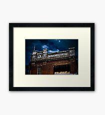 Terminus Hotel Framed Print
