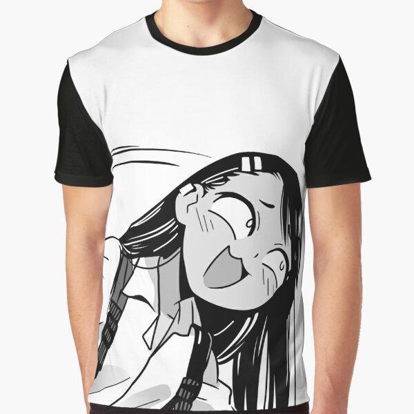 Smug Nagatoro Borderless Graphic T-Shirt