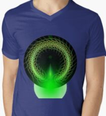 Abstract Digital Background Mens V-Neck T-Shirt