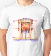 Sunset door. design by Tereza Del Pilar Unisex T-Shirt
