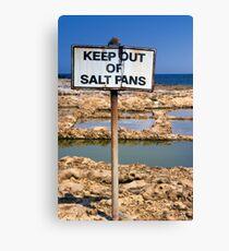 Precious Salt Canvas Print