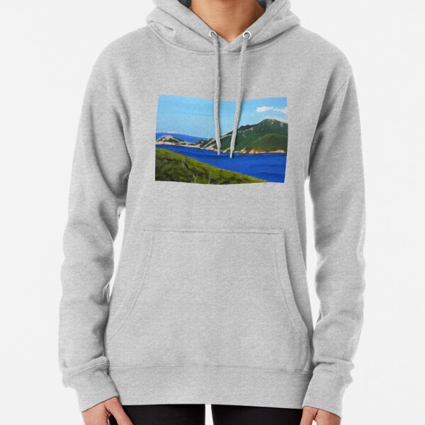 Wineglass Bay Pullover Hoodie