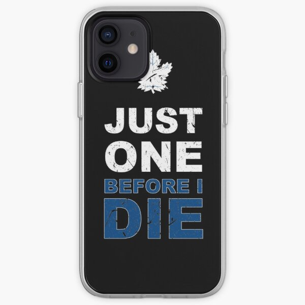 Toronto Maple Leafs - Just One!! iPhone Soft Case