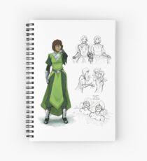 Zaofu Korra Spiral Notebook
