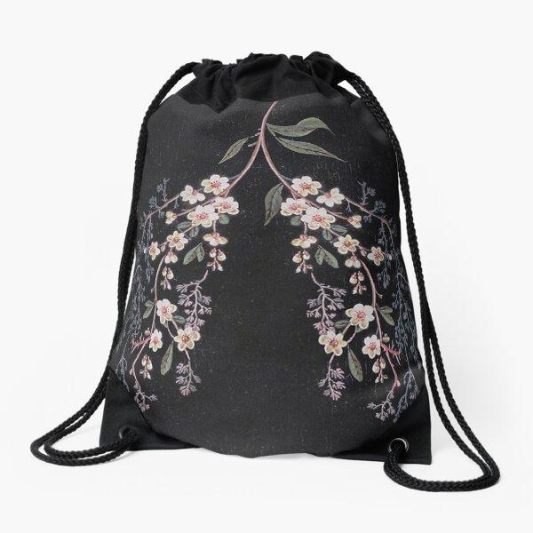 Lungs Drawstring Bag