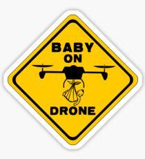 Baby On Drone Sticker