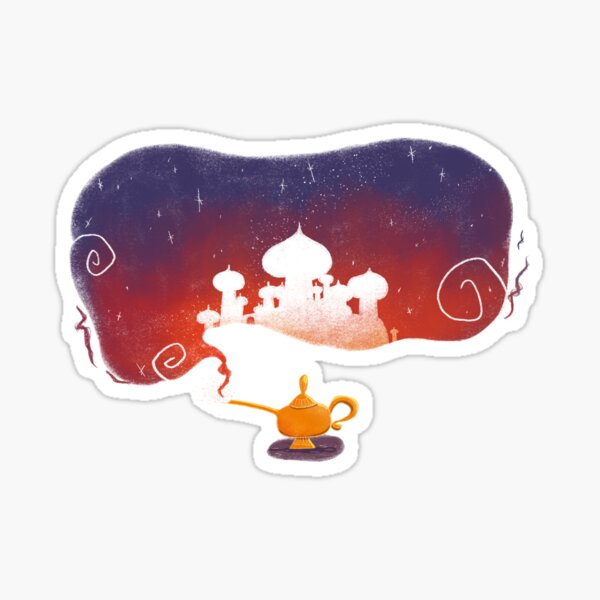 Magic lamp Sticker