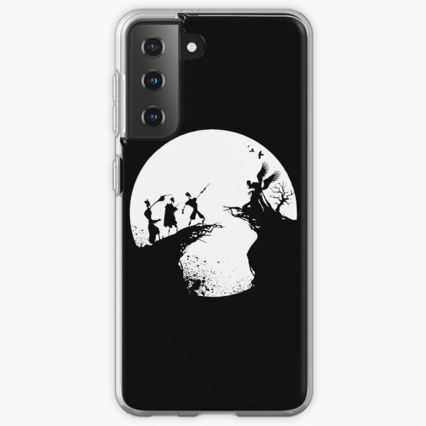 Histoire de la mort Noir et blanc  Coque souple Samsung Galaxy