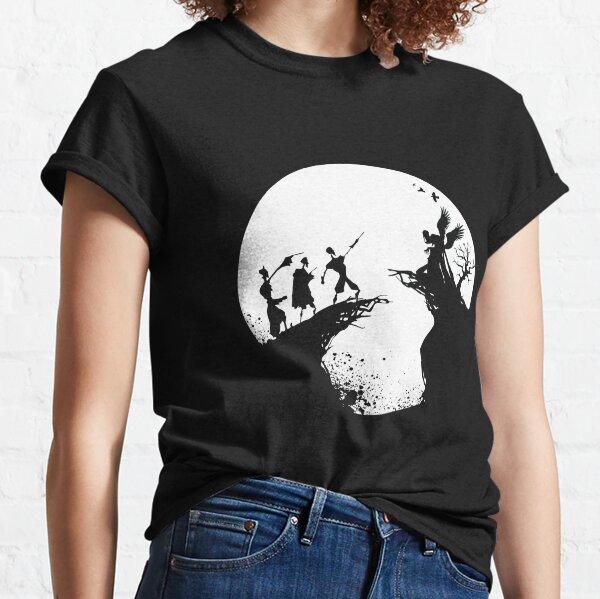 Histoire de la mort Noir et blanc  T-shirt classique