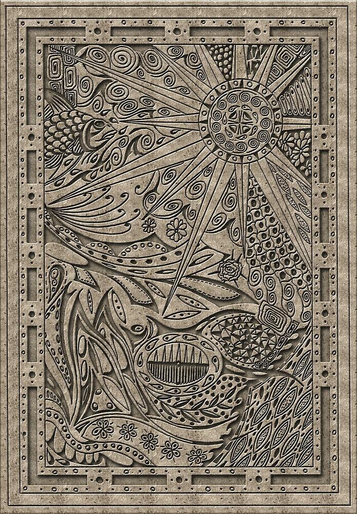 Stone plate5 by Jeno Futo