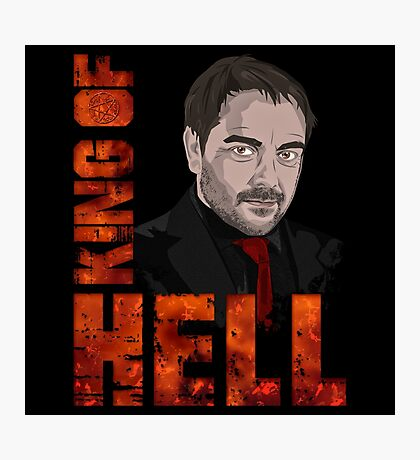 King of Hell Crowley Photographic Print