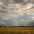 Anti-Crepuscular Rays by Heather Prince