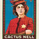 Vintage Hollywood Nostalgia Cactus Nell Film Movie Advertisement Poster by jnniepce