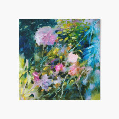 Floral abstract garden Impression rigide